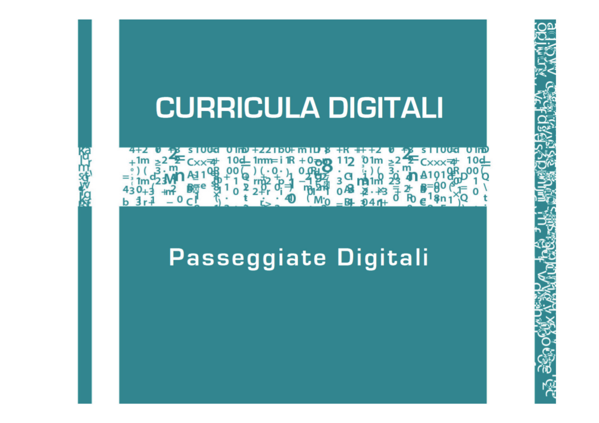 CURRICULI DIGITALI Passeggiate Digitali